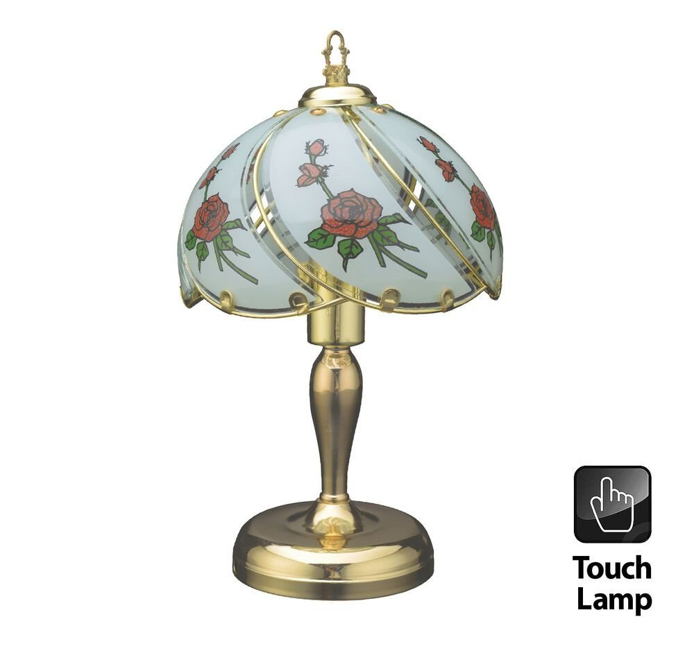 Best 40Cm Vintage Style Table Touch Bedside Lamp Desktop With Pictures