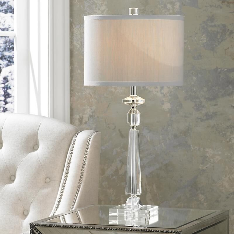 Best Modern Crystal Table Lamp Desk Light Bedside Side With Pictures