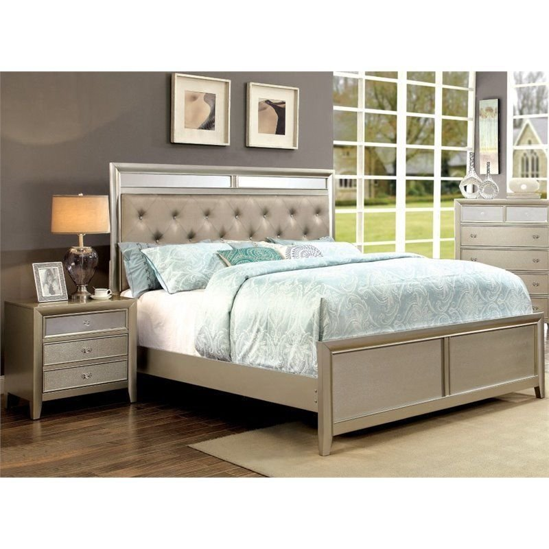 Best Furniture Of America Maire 2 Piece Queen Bedroom Set In With Pictures