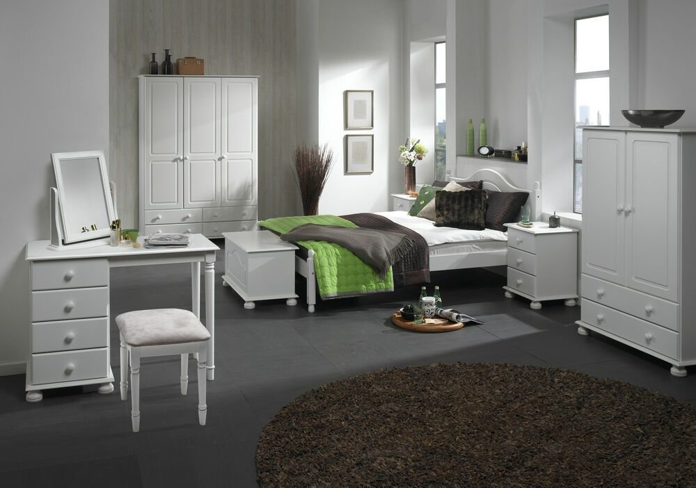 Best White Bedroom Furniture Wardrobe Drawers Bedside Table With Pictures