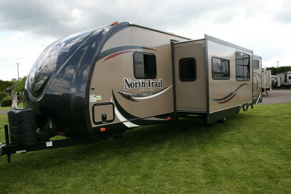 Best 2014 Northtrail Bunkhouse American Travel Trailer Caravan 2 Bedroom 2 Slides Ebay With Pictures
