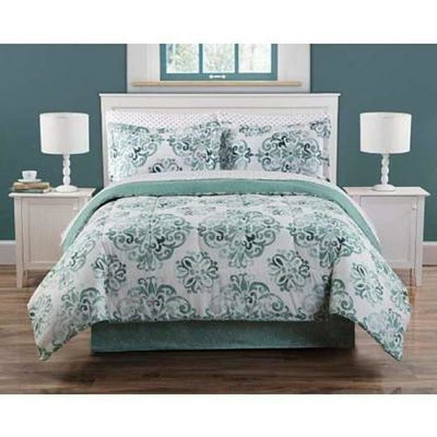 Best 8 Pieces Complete Bedding Bed Set Soft Geometric Comforter King Queen Full Twin Ebay With Pictures
