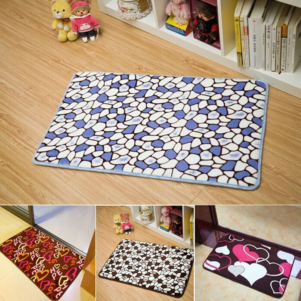 Best New Bath Room Floor Carpet Bedroom Fluffy Soft Absorbent With Pictures