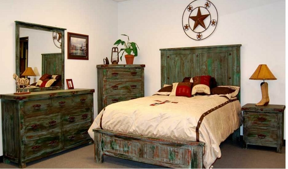 Best Painted Reclaimed Look Bedroom Set King Queen Distressed With Pictures