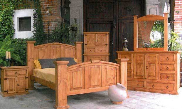 Best Traditional Style Mansion Bedroom Set Western Rustic With Pictures