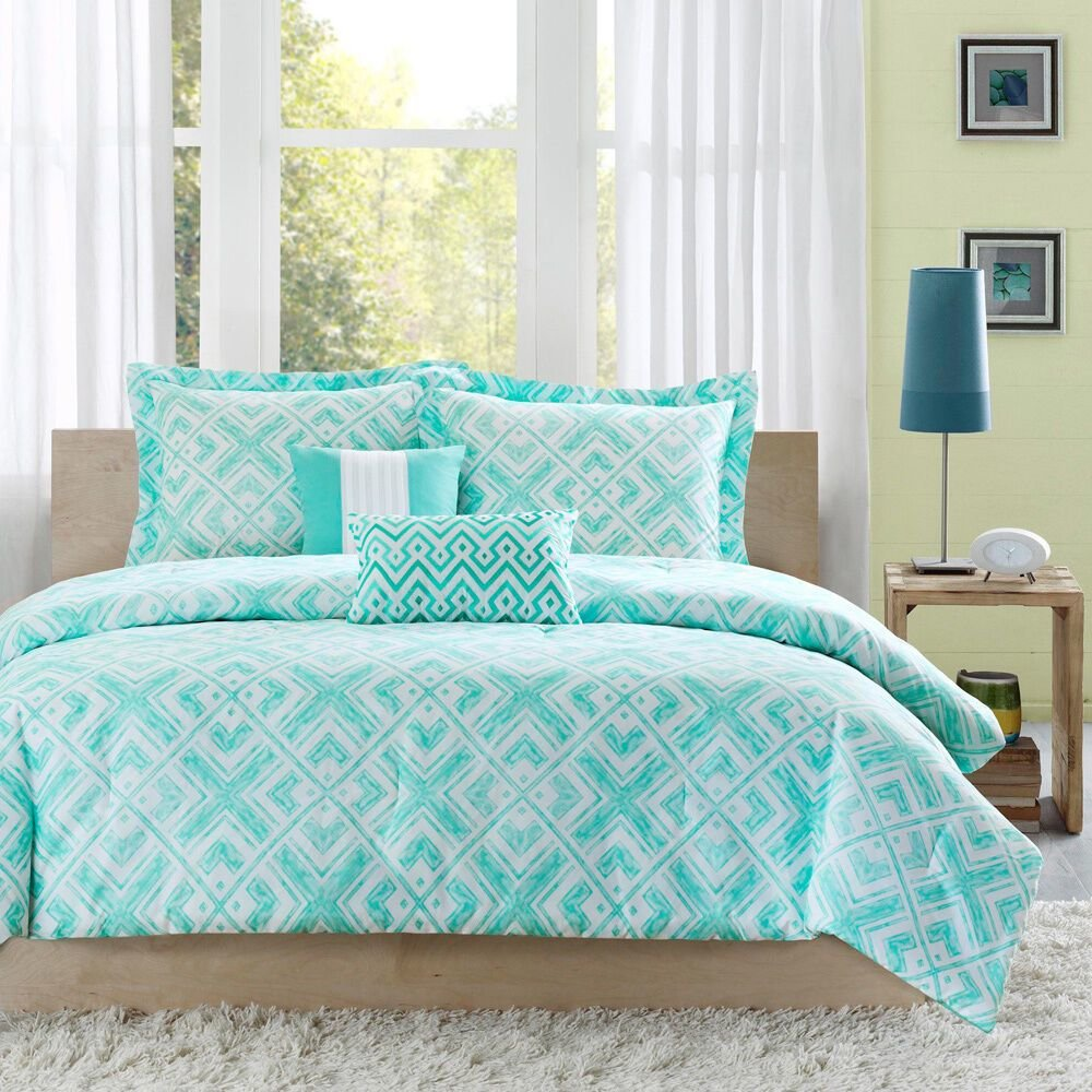 Best Beautiful Chic Light Blue Teal Aqua Green Chevron Stripe With Pictures