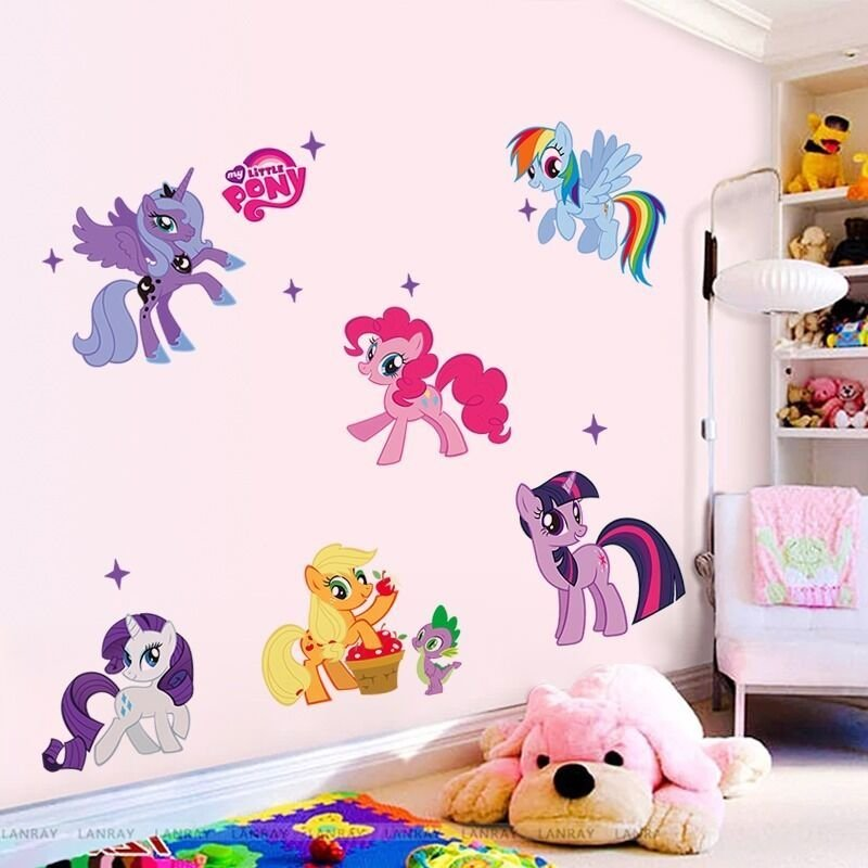 Best Hot Cartoon My Little Pony Wall Sticker Decals Kids With Pictures