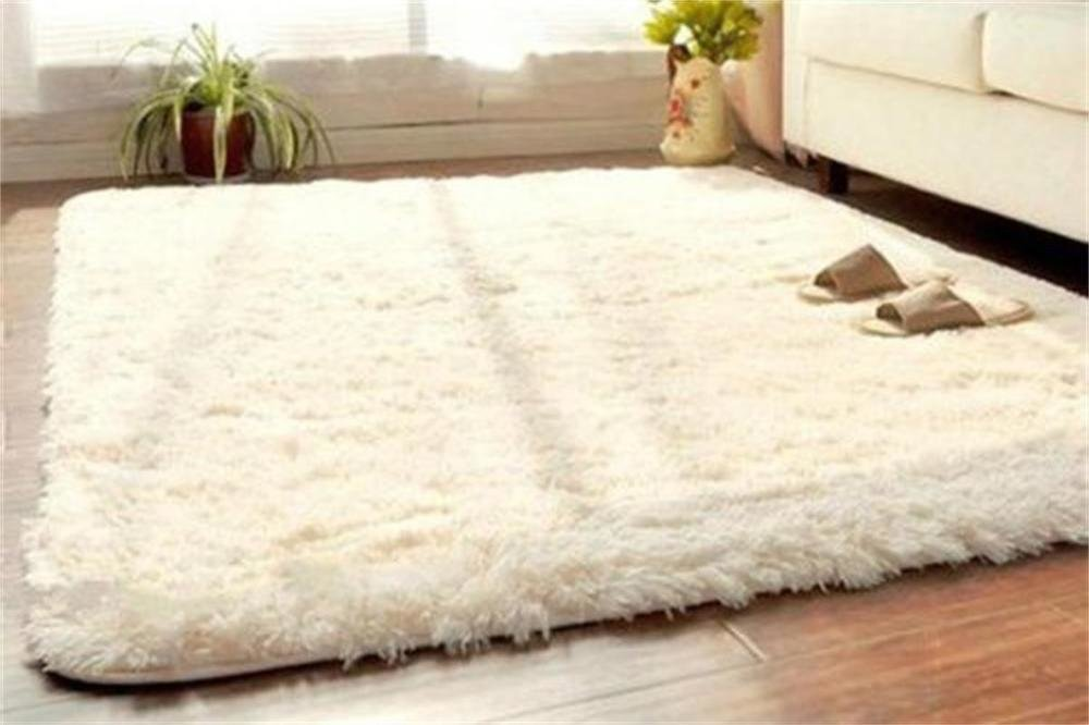 Best Soft Fluffy Rugs Anti Skid Shaggy Rug Dining Room Home With Pictures