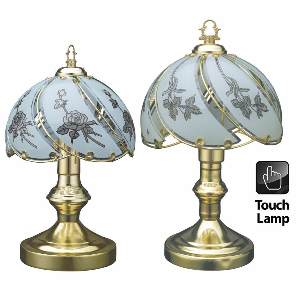 Best Desktop Bedroom Table Touch Lamp Vintage Style Polished With Pictures