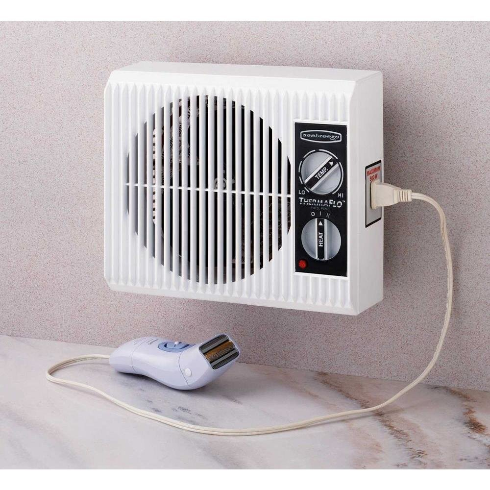 Best Wall Outlet Fan Space Heater Small Electric Bathroom With Pictures