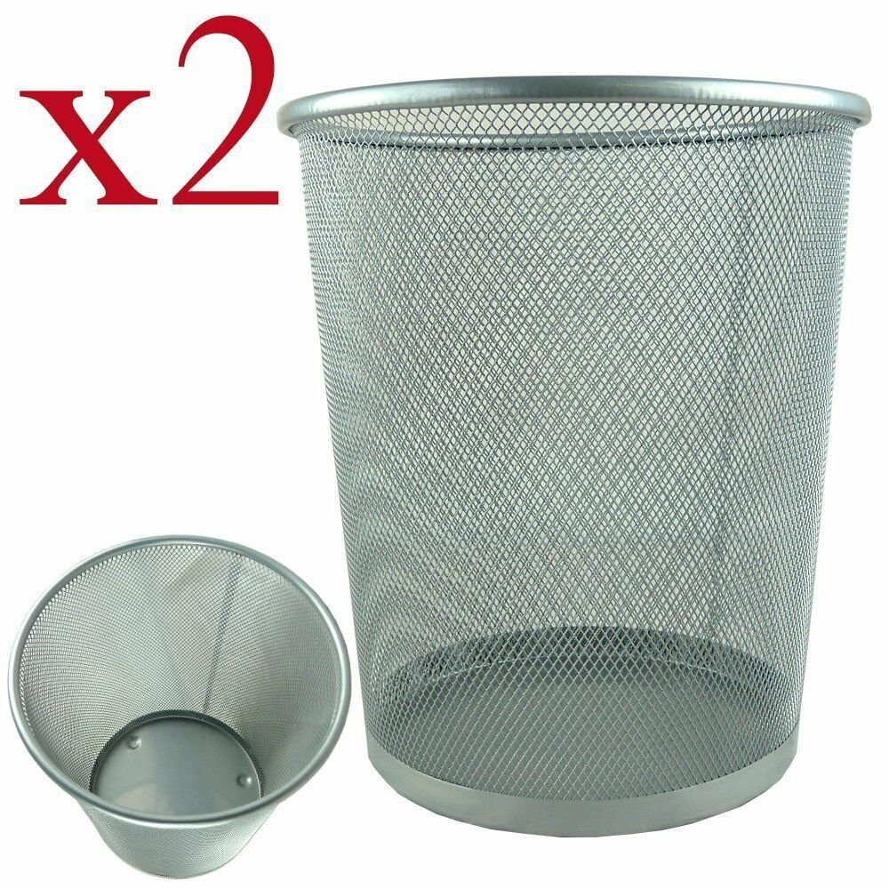 Best 2X Bin Waste Paper Basket R*Bb*Sh Bedroom Room Kitchen With Pictures