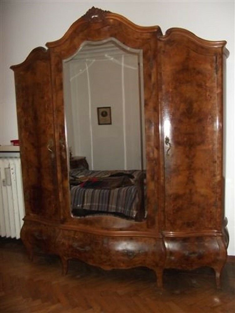 Best Beautiful Vintage Antique Italian Bedroom Set Armoire With Pictures