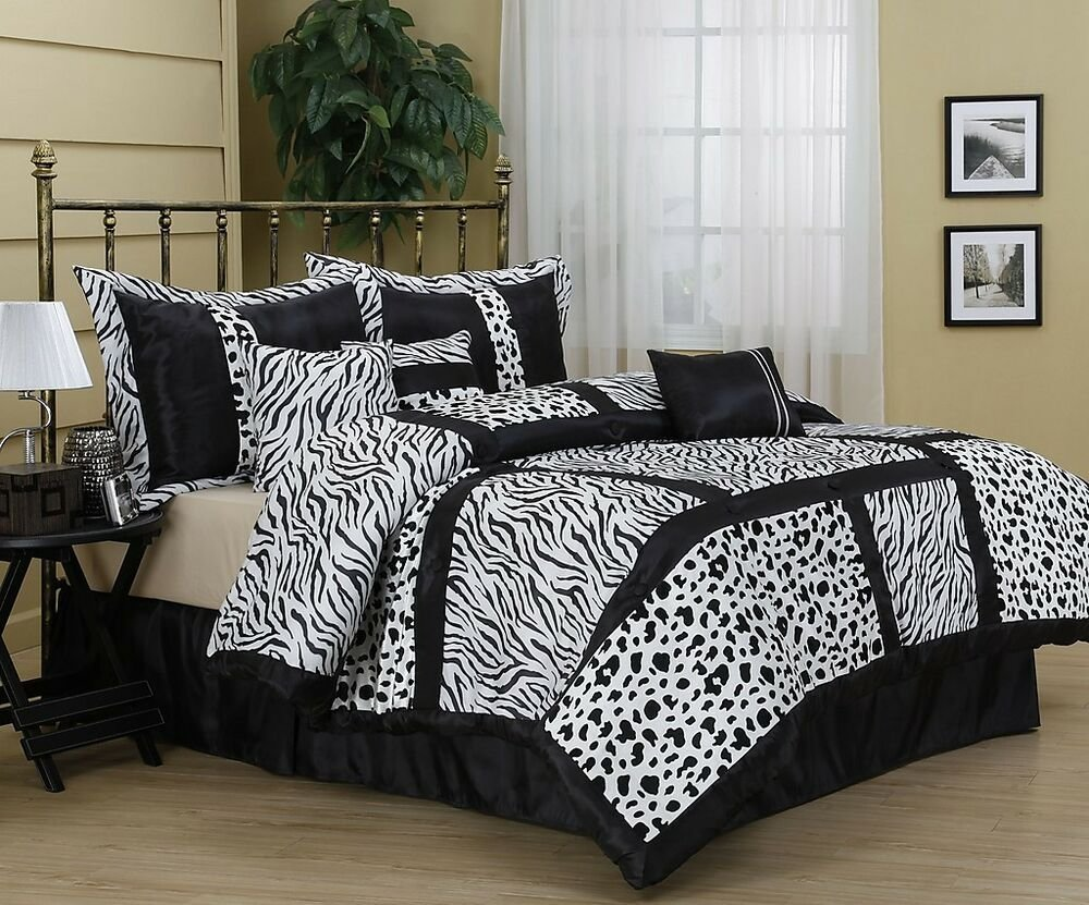 Best Amazon Animal Print 7 Piece Comforter Set Bed In Bag Brand With Pictures