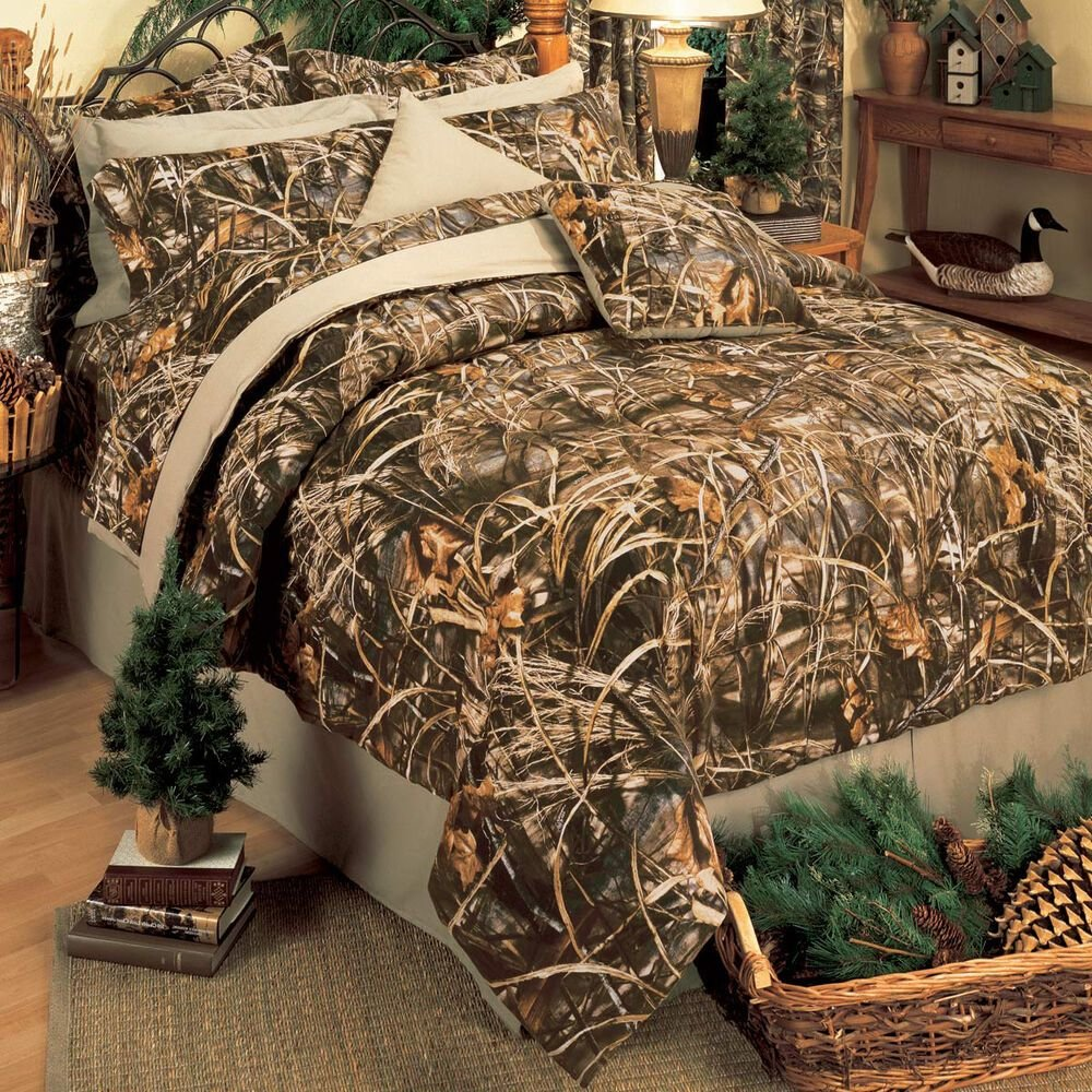Best Realtree Max 4 Camo Comforter Set Bed In A Bag With Pictures