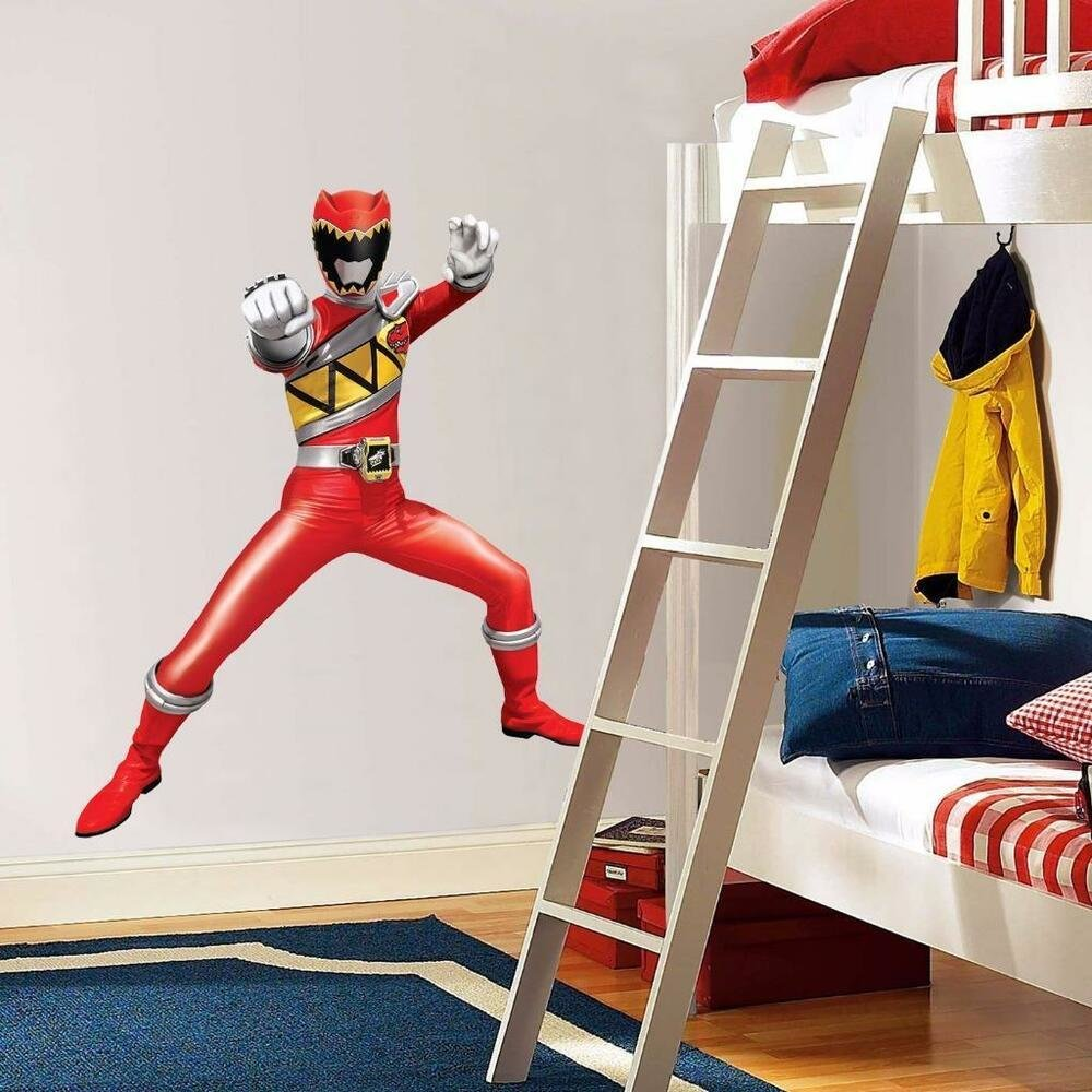 Best Power Rangers Dino Charge Red Decal Removable Graphic Wall With Pictures