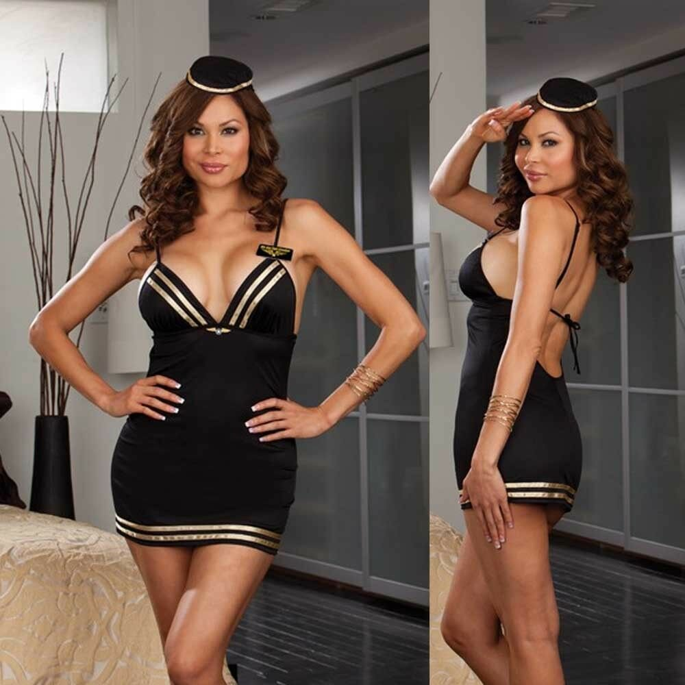 Best Plus Size Mile High Club Bedroom Costume Os Queen Ebay With Pictures