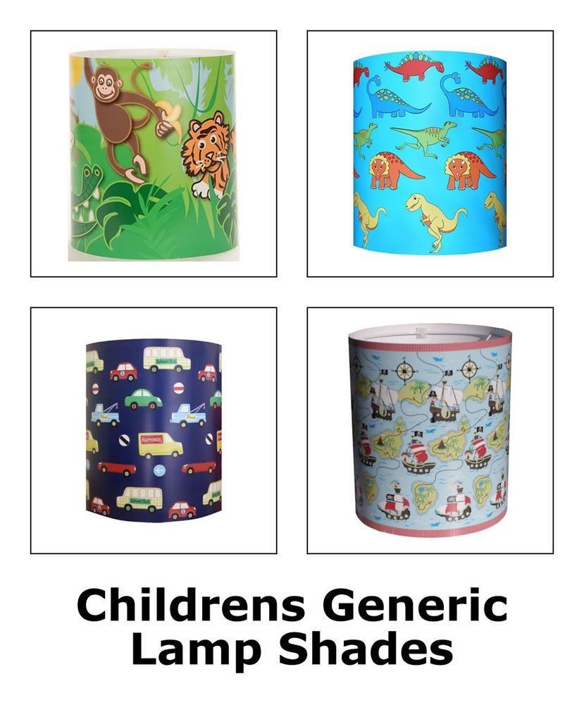 Best Boys And Girls Lamp Shades Childrens Bedroom Lighting With Pictures