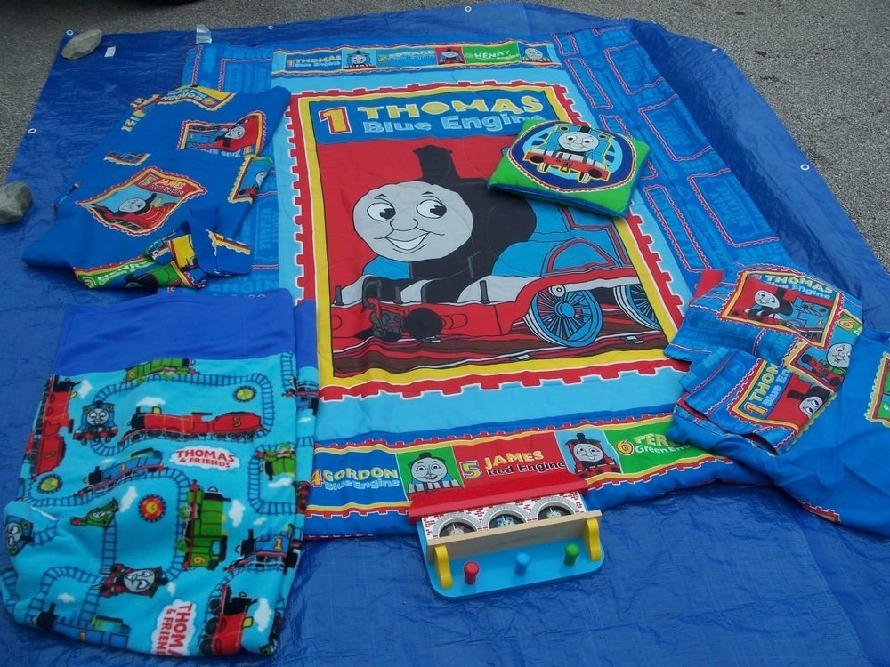 Best Thomas The Tank Engine Train And Friends Kids Bedding Set With Pictures