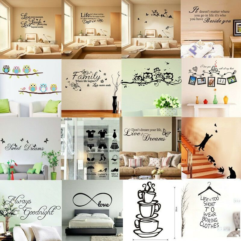 Best Removable Vinyl Home Room Decor Art Quote Wall Decal With Pictures