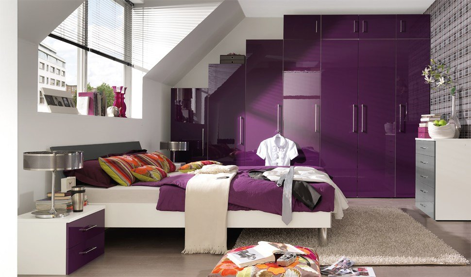 Best Bedroom Décor In Purple My Decorative With Pictures