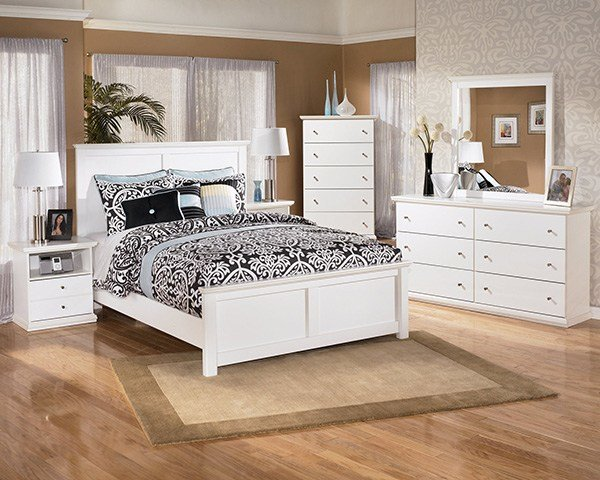 Best Bostwick Shoals Solid White Cottage Style Bedroom Set Marjen Of Chicago Chicago Discount With Pictures