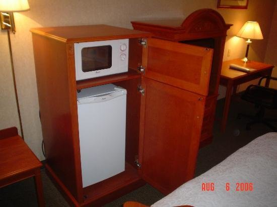 Best Bedroom Microwave Fridge Picture Of Hampton Inn Columbus With Pictures