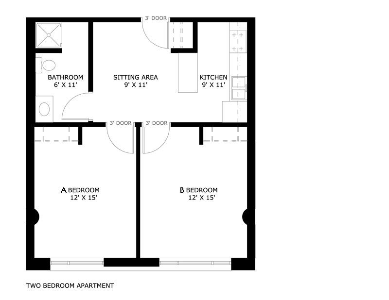 Best Kenilworth Square Apartments University Housing With Pictures