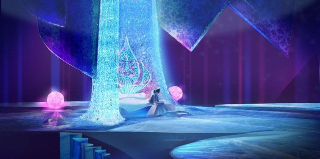 Best Disney Animation Concept Art Artsy Anna Frozen Originality With Pictures