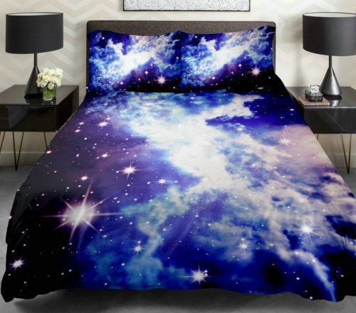 Best Anlye Galaxy Bedding Galaxy Bedding Spread 3D Bedding Set Nebula Bedding Sets With Pictures