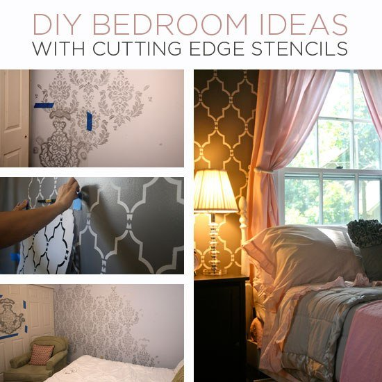 Best Diy Bedroom Ideas With Cutting Edge Stencils With Pictures