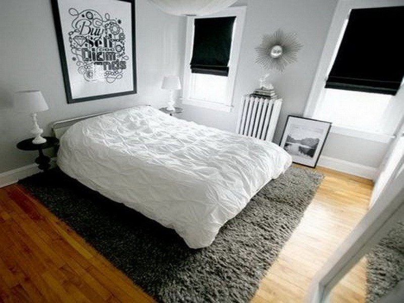 Best Bloombety Small Bedrooms With Carpet Grey Ideas For With Pictures
