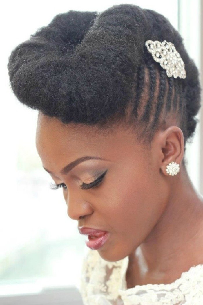 Free 7 Wedding Styles For Natural Hair Brides To Be Wallpaper