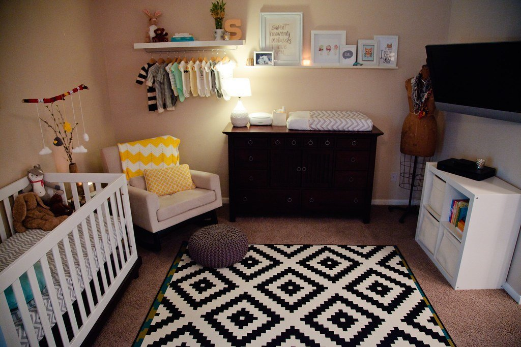 Best Nursery Nook In Master Bedroom Home Tour Fresh Mommy Blog With Pictures
