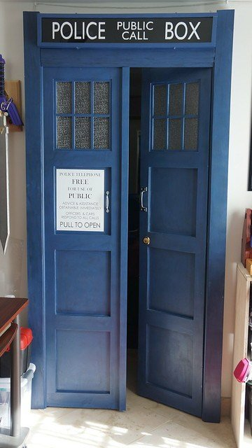 Best Tardis Bedroom Doors Flickr Photo Sharing With Pictures
