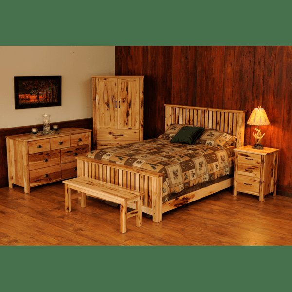 Best Natural Tones Hand Crafted Furniture Hickory Slat With Pictures