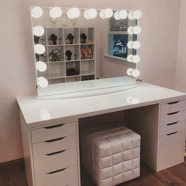 Best Bedroom Vanity Also White Vanity Set Which Has A Function With Pictures