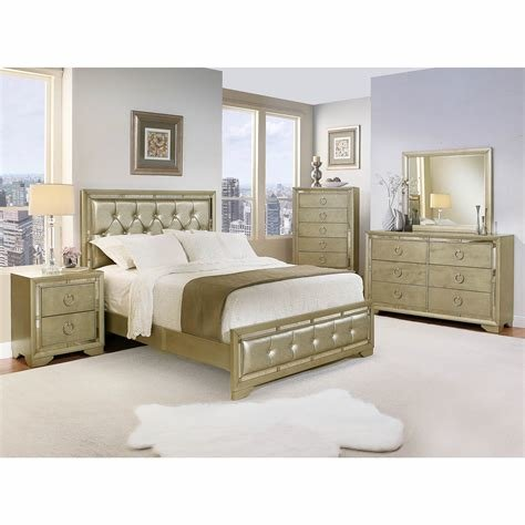 Best Abbyson Living Penelope Queen Size 6 Pc Mirrored Bedroom Set Gray Bj S Wholesale Club With Pictures