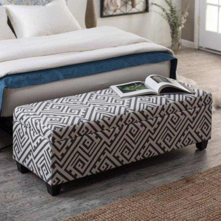 Best 10 Beautiful Storage Ottoman Bench Ideas For The Bedroom With Pictures