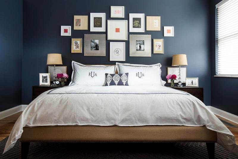 Best 18 Vibrant Navy Blue Bedroom Design Ideas Rilane With Pictures