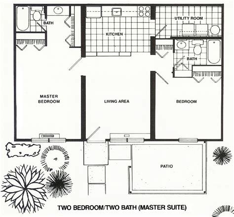 Best 2 Bed 2 Bath Apartment Rose Lane Apartments With Pictures