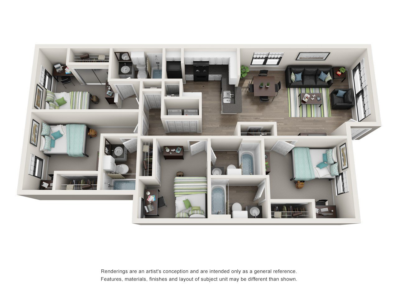 Best Apartment Floor Plans Near Ucf The Verge Orlando With Pictures