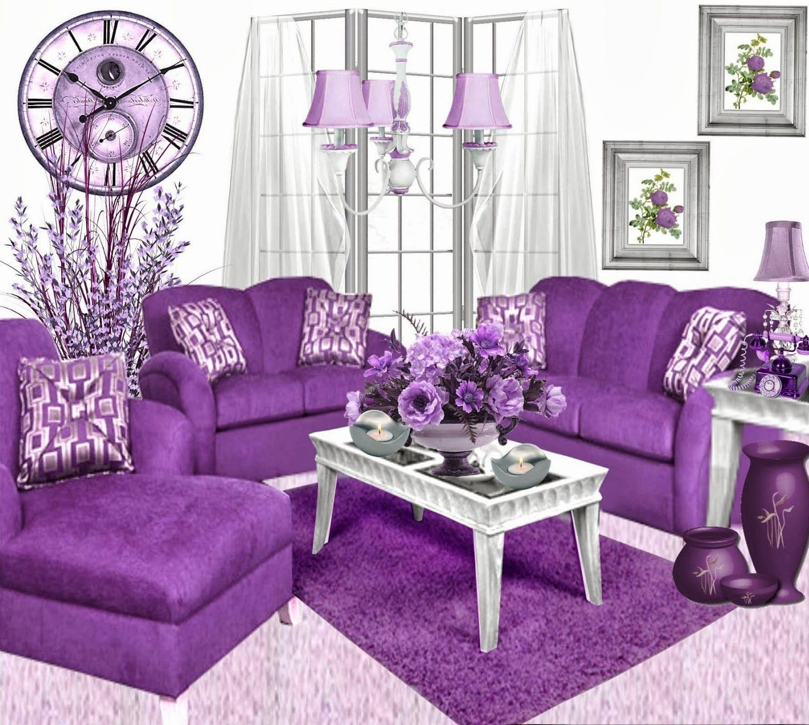 Best Bathroom Decoration Order Lilac Decor Purple And Grey With Pictures