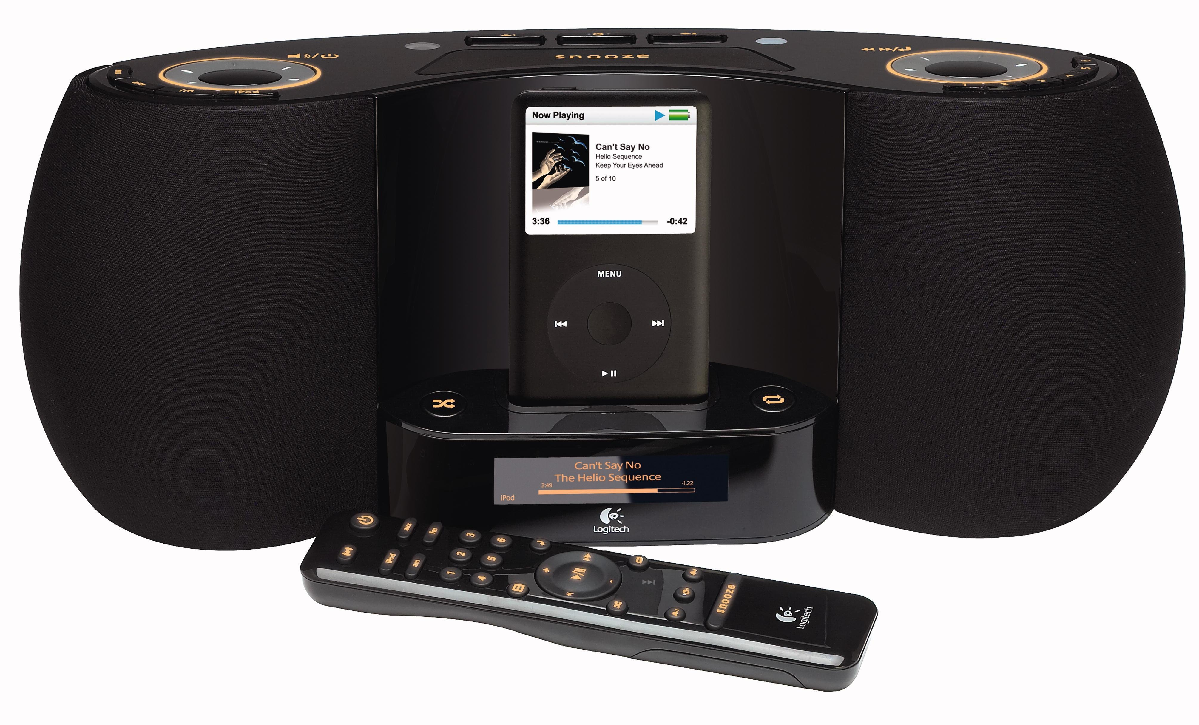 Best Logitech Pure Fi Dream Premium Bedroom Music System For Ipod With Pictures