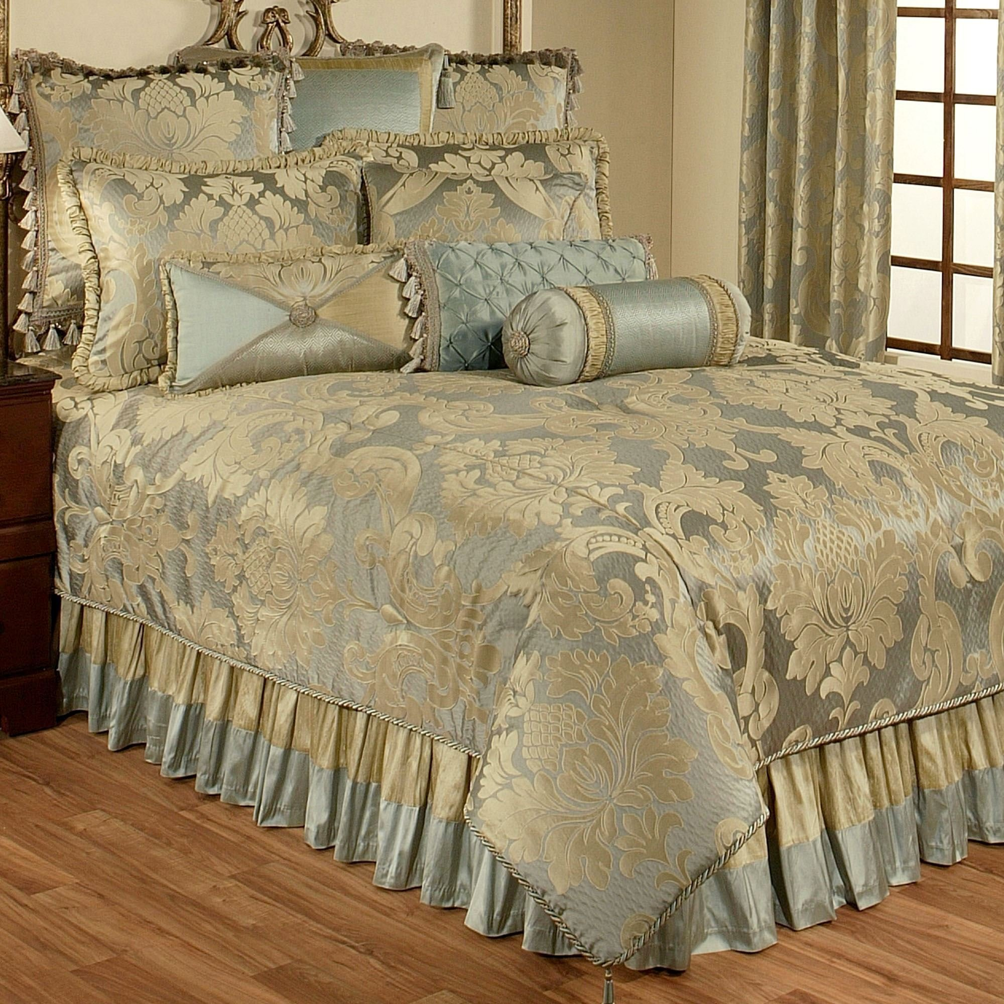 Best Duchess Damask Comforter Bedding With Pictures