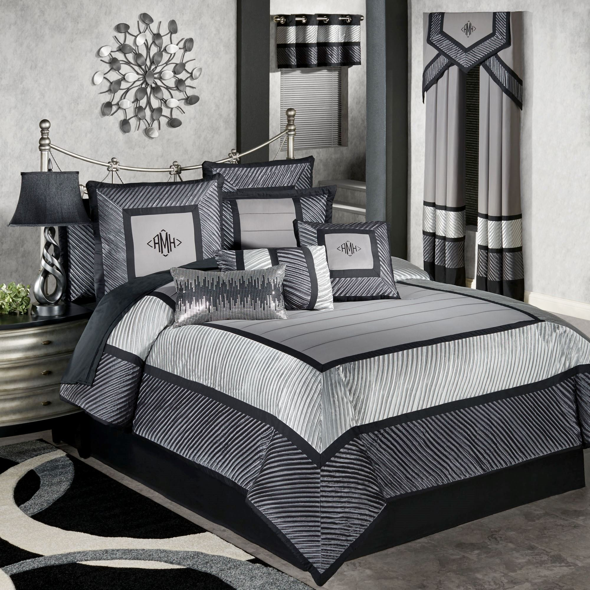 Best Omega Modern Comforter Bedding With Pictures