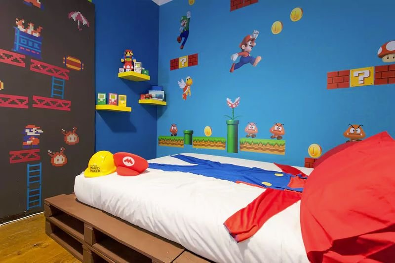 Best Gaming Themed Rental Rooms Video Game Themed Room With Pictures