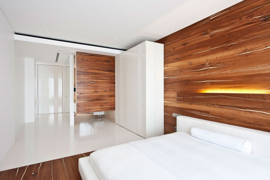 Best Apartment Awash With Walnut White With Pictures