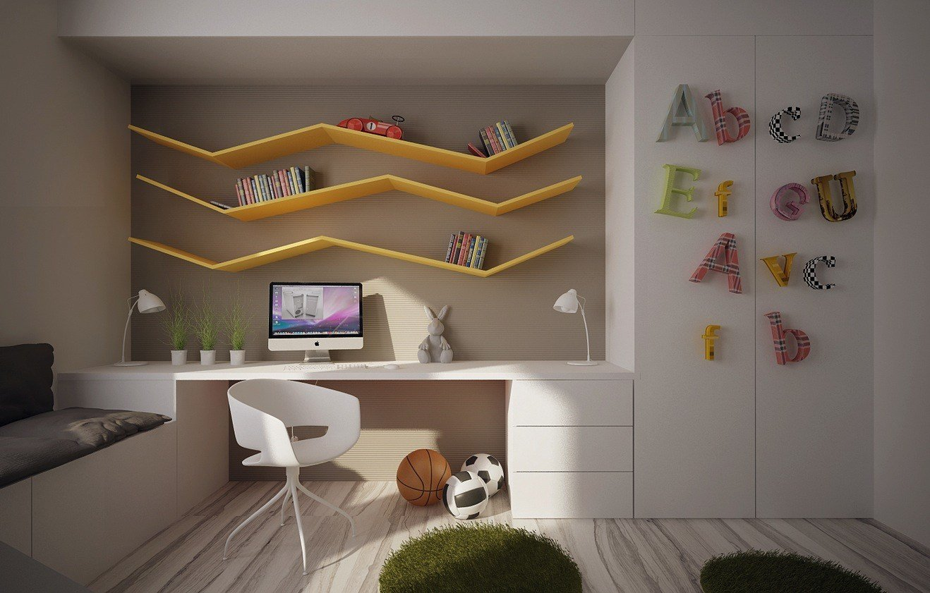 Best 12 Kids Bedrooms With Cool Built Ins With Pictures