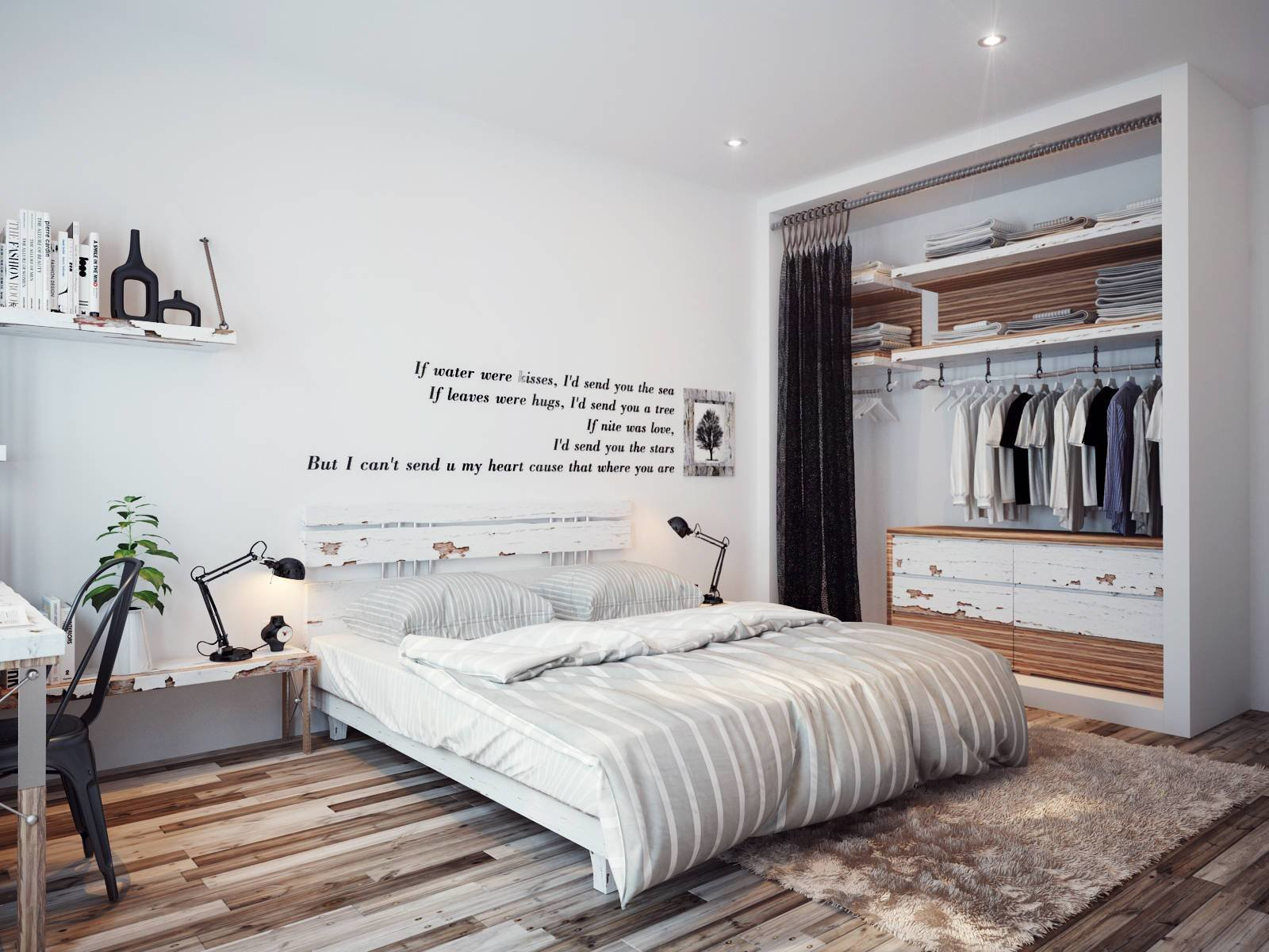 Best Bedroom Wall Quote Interior Design Ideas With Pictures