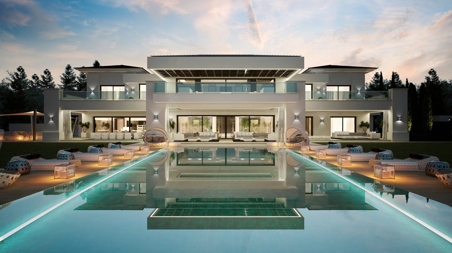 Best Luxurious 9 Bedroom Spanish Home With Indoor Outdoor Pools With Pictures